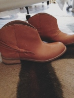 Anthropologie booties [$49.95]