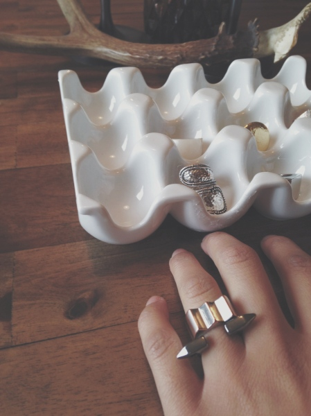 bold geometric rings