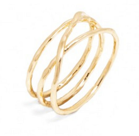 willow infinity ring via Bauble Bar