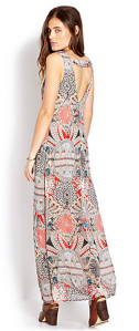 eclectic beauty maxi